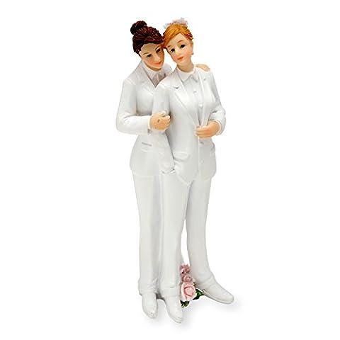 Same Sex Female Wedding Figure