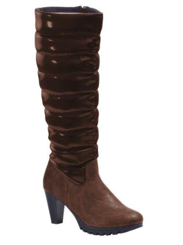 CHILLANY  Stiefel, Chaussures bateau pour femme Marron - Marron