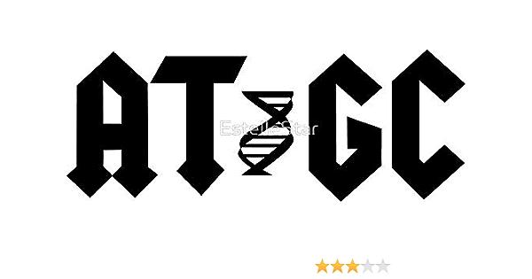 La Stickers Atgc Molekulare Biologie Genetik Aufkleber Grafik Auto Wand Laptop Zelle Lkw Aufkleber Für Fenster Auto Lkw Küche Haushalt