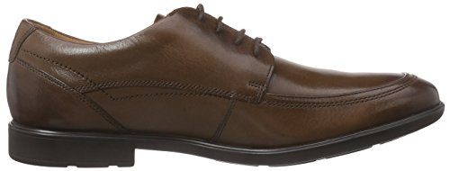 Clarks Gosworth Apron, Derby homme Marron (Walnut Leather)