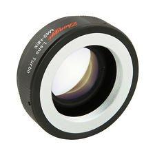 Mcoplus - Lens Turbo Focal Reducer für Sony NEX Metabones Speed Boster M42 pentax, Carl Zeiss, Praktica, Mamiya Objektiv zu NEX - A günstige Weise zu Sony NEX 3 konvertiert, 5, 6, 7 in Vollbild Kamera! (Mamiya 7 Objektive)