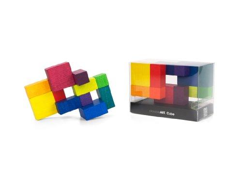 PLAYABLE ART- Cube, Puzle de Madera (Beyond A0473)