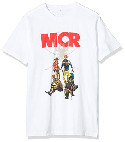 Mister té Joven My Chemical Romance Kill Joys Pinup Camisetas,...