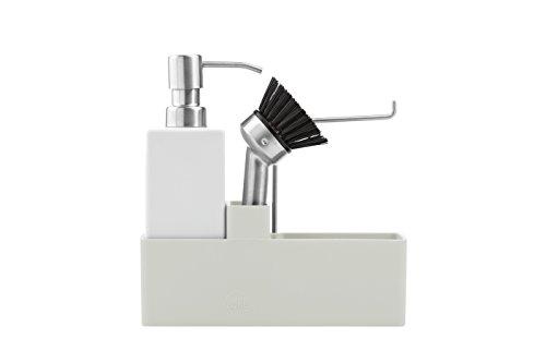 Zone Denmark-Set per lavare stoviglie Confetti, 3pezzi, grigio chiaro