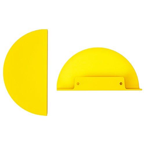 IKEA TOSTERUP Möbel Griffe in gelb; inkl. Schrauben; (190mm); 2 Stück