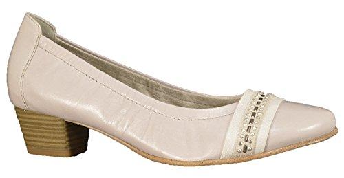 Tamaris 22302, Chaussures à talons - Avant du pieds couvert femme Gris