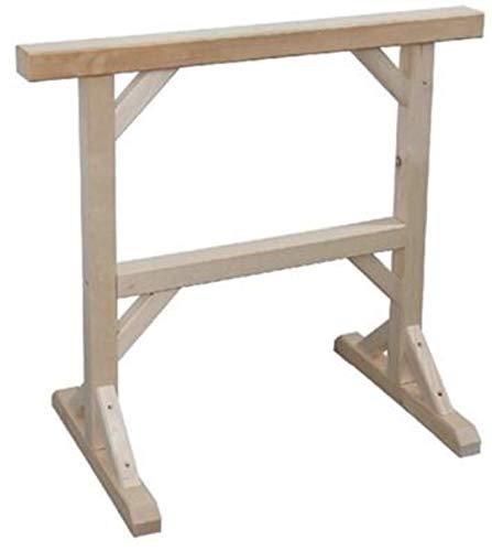 Holz Arbeitsbock | Holzbock | 2 x Werkstattbock | Profi Unterstellbock | Gerüstbock