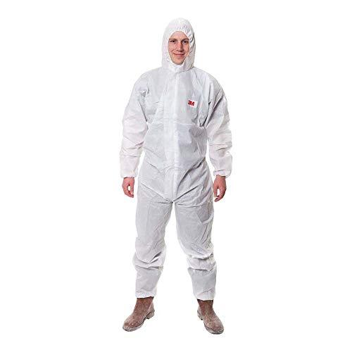 3MTM 4515 Indumento di protezione 5/6, SMS Polipropilene, Bianco, taglia 2XL