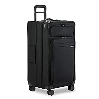 Briggs & Riley Baseline Extra Large Expandible Trunk Spinner (Negro)