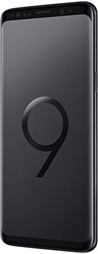 Samsung Galaxy S9 Smartphone (5,8 Zoll Touch-Display, 64GB interner Speicher, Android, Dual SIM) Midnight Black – Deutsche Version