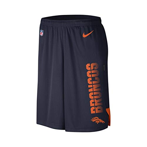 Nike Breathe Player (NFL Broncos) Men's Shorts Size L (College Navy)