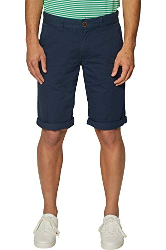 edc by ESPRIT Herren 999CC2C800 Shorts, Blau (Navy 400), 36 W