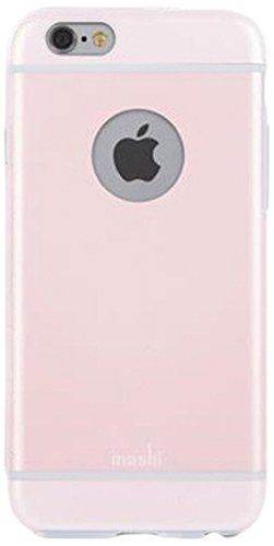 Moshi iGlaze per iPhone 6 Plus Pink - SchnappgehäUse/Hardcover per Apple iPhone 6 Plus