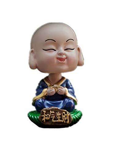 YONGYAO Little Monk Shami Buddha Auto Ornamente Niedlichen Auto-Interieur-Accessoires Auto Kleinen Schmuck-C