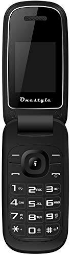 Onestyle Shell Dual SIM Klapphandy schickes Design einfach und günstig, schwarz