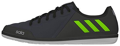 adidas Herren Messi 16.4 Street Fußballschuhe, Grau (Dark Grey/Solar Green/Core Black), 44 EU