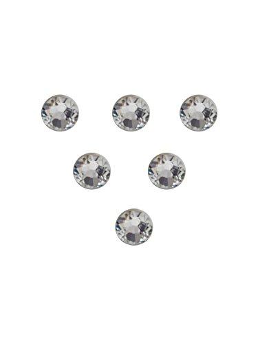 Confezione da 100no hotfix, ss5Swarovski Elements Cristallo Colore: 2058Xilion diamante, diametro: 1,7e 1,9mm adesivo e (Swarovski Xilion Diamante)