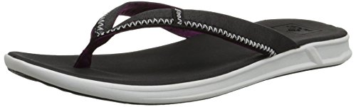 Reef Womens Flip Flops Thongs (Reef Rover ladies zehentrenners. new, Black, 36 EU)