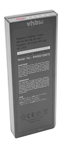 vhbw Li-Ion Akku 5200mAh (14.4V) für Kamera Videokamera Camcorder wie Sony NP-1, NP-1A, NP-1B, NP-1B/1, NP-25, NP-L25, NP-L50, NP-L50S Li-ion Camcorder-akku