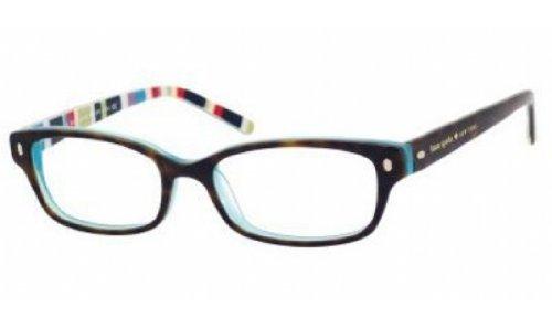 33a2c658d76553 KATE SPADE Monture lunettes de vue LUCYANN 0X77 Écailles Bleu à rayures 49MM