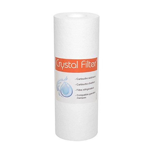 Cartouche PP-25-7 sédiment SPUN 7'' - filtre 25 µm - Crystal Filter®