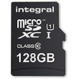 Integral memory INMSDX128G10 - 8025N3R micro SDXC Class 10 UltimaPro UHS-1 128 GB tarjeta de memoria con USB 3.0 lector de tarjetas