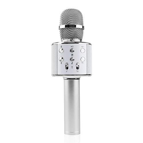 Seasaleshop Bluetooth Karaoke Mikrofon, Tragbare Handheld Karaoke Mic Home Party Geburtstag Lautsprecher Maschine für IOS/Android.