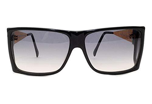 Rocco Barocco Damen Sonnenbrille Grau Schwarz Einheitsgröße