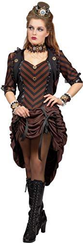 Kostüm Horror Steampunk - Wilbers NEU Damen-Kostüm Steampunk Kleid, Gr. 38