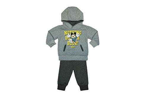 Kleines Kleid Jungen Mickey Mouse Sport-Anzug zweiteilig, Sweat-Jacke mit Langer Hose, GRÖSSE 68, 74, 80, 86, 92, 98, 104, 110 Jogging-Anzug mit Hoodie Kapuzen-Pulli, Freizeit-Anzug Größe 92 (Kleinkind-jungen Mickey-mouse-kleider Für)