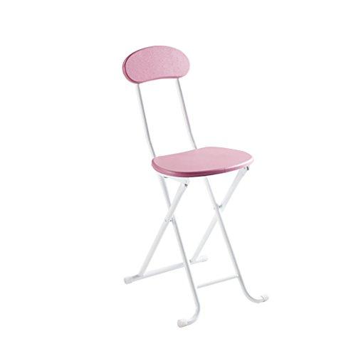 XUEPING Stuhl Klappstuhl Haushalt Bar Küche Schreibtisch Restaurant Sessel Vier-Fuß-Freizeit Stuhl 3 Farben Counter Chair (Farbe : A, größe : - Bar Schreibtisch Höhe
