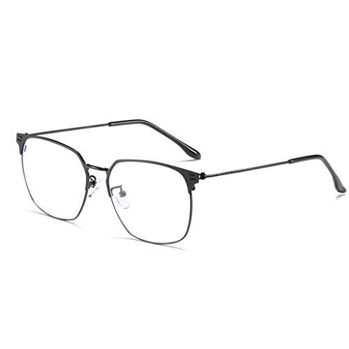 LSS Blaulichtfilter Computer Brille, Nicht Verschreibungspflichtige Brillen, Business-Metallrahmen Schützen Die Augen , Lesebrillen , Männer Frauen (Farbe : C)