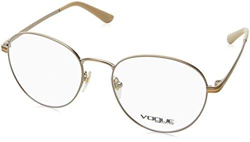Vogue - VO 4024, Rund, Metall, Damenbrillen, MATTE CREAM(996), 52/18/135