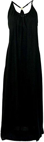 Guru-Shop -  Vestito  - Donna Nero
