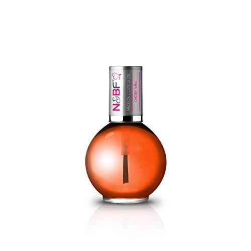 N&BF Nagelöl Cherry Wine mit Duft (Kirsche) 11,5ml | Nährstoffreiche Pflege für Nagel und Nagelhaut | Repair and Protect Öl unterstützt optimal bei der Regeneration der Fingernägel