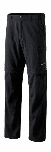 Erima–Pantaloni tinta unita, con zip nero