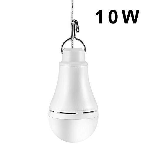 birne USB LED Lampe Birne, Multifunktionale Solar LED Glühbirne, Solar Camping, Wiederaufladbare Notbeleuchtung Lampe für Camping, Wandern, Angeln, Notlicht und andere Outdoor-Aktivitäten by favourall
