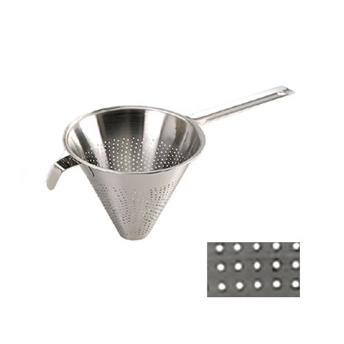 De Buyer 3350.23N Passe-sauce 'Chinois' de Cuisine inox - Perforations 1,5 mm - Ø 23 cm
