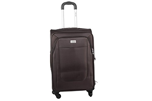 Maleta semirrígida PIERRE CARDIN marrón mini equipaje de mano ryanair S281