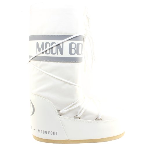 Tecnica Moon Boot Damen Stiefel Nylon Snow Boots - Weiß - 36-38