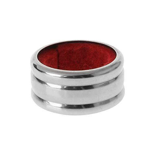 ZOOMY Praktische Edelstahl-Rotweinflasche Drop Drop Proof Stop Ring Bar Tools - Rot