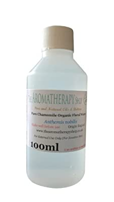 Organic Chamomile Floral Water 100ml by The Aromatherapy Shop