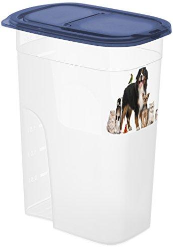 Rotho 4000210805 Aufbewahrungsbox für Tierfutter - Schüttbehälter mit Motiv Fassungsvermögen, 4.1 L