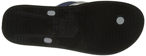 Rider Shape Mix Ad, Tongs Homme Noir (Black/Grey/Blue)