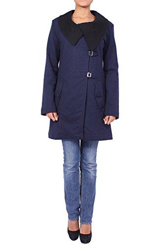 ANTA Q'ULQI - Capotto in Jersey 100% cotone Tanguis CELERO - blu, L