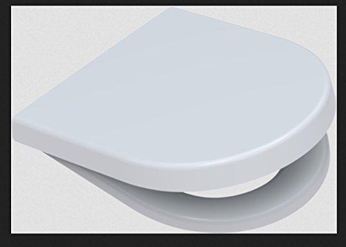Toto Germany 795680202 Pagette WC-Sitz Starck 3 mit Absenkautomatik Softclose, klick-o-matik