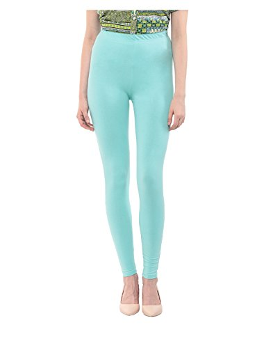 Yepme Women's Blue Cotton Leggings - YPWLGGN5163_M  available at amazon for Rs.179
