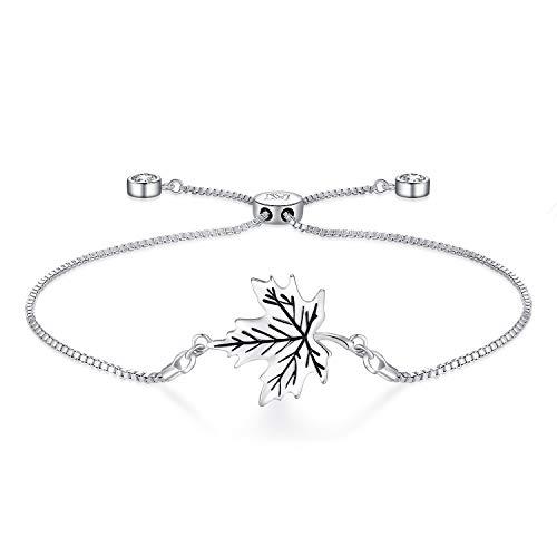 NINAMAID Damen-Armband mit Klare Swarovski Kristalle Element Vergoldet Armbander f¡§148r Damen Unendlichkeits SymbolFrauen Schmuck -