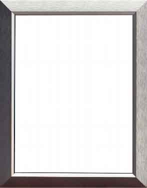 abb-entrelec BL521D Tür mit Rahmen Linea Fotorahmen Aluminium Matt