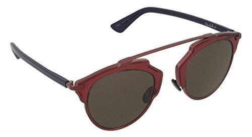 Dior Damen Diorsoreal L3 Sonnenbrille, Schwarz (Plumbrgnbluee Nsz), 48